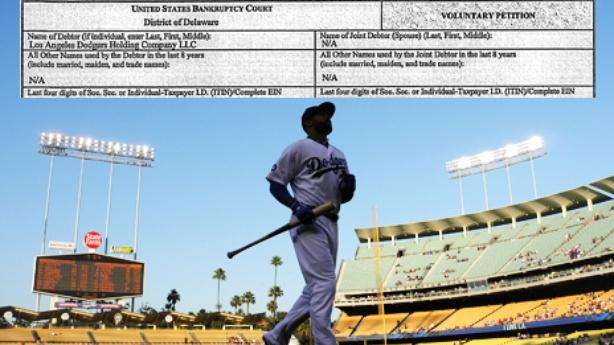 Los Angeles Dodgers File for Bankruptcy