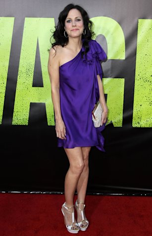 "FILE - In this June 25, 2012 file photo, actress Mary-Louise Parker attends the premiere of ""Savages,"" in Los Angeles. Parker stars in ""Weeds"" which ends it eight-season run Sunday, Sept. 16, 2012. (Photo by Matt Sayles/Invision/AP, File)"