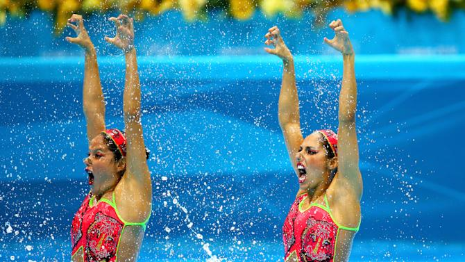 Olympics Day 9 - Synchronised Swimming