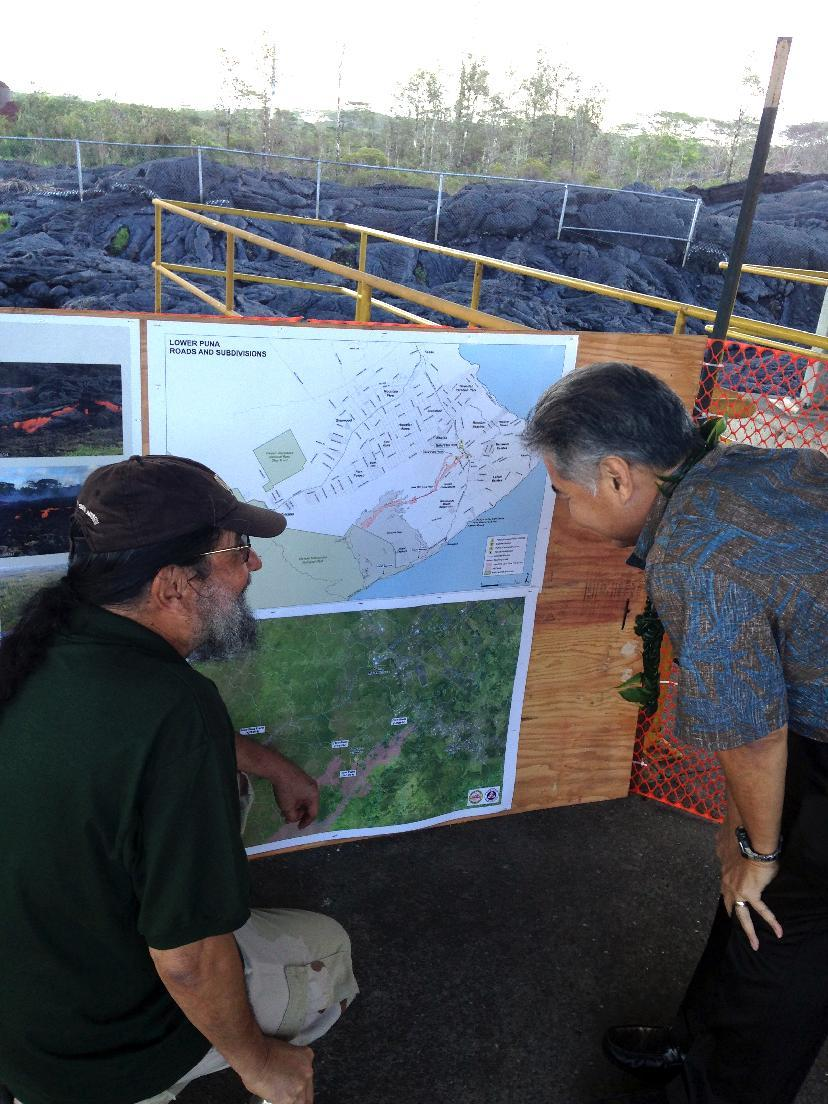 Lava slows but still on track to hit Hawaii market