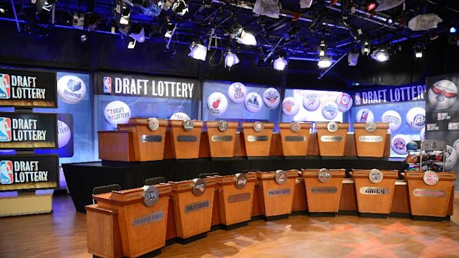 NBA's biggest losers look for lottery win