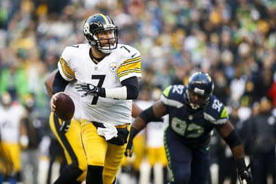 Ben Roethlisberger self-reported concussion symptoms during Seahawks game
