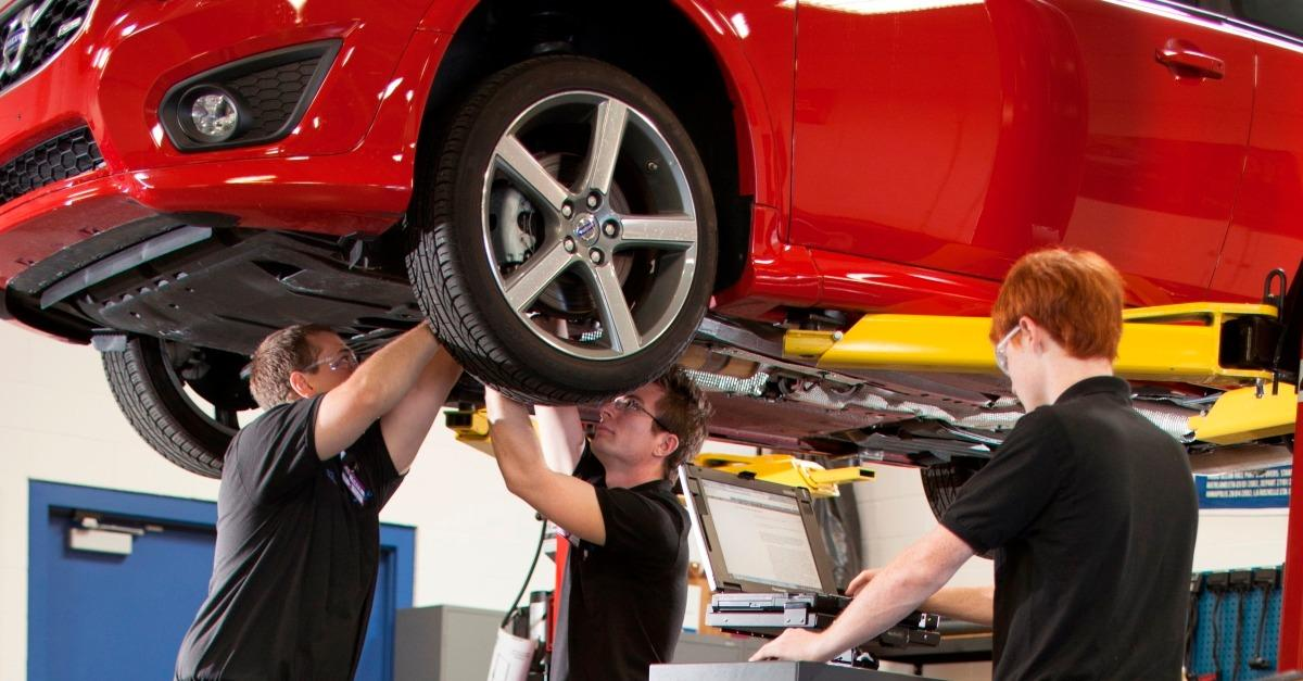 Have you considered a career in automotive repair?