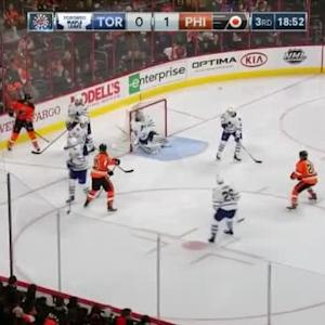 James Reimer Save on Brayden Schenn (01:10/3rd)