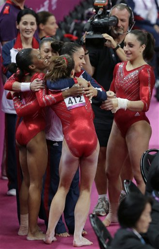 'Fierce Five' soar their way into Olympic history