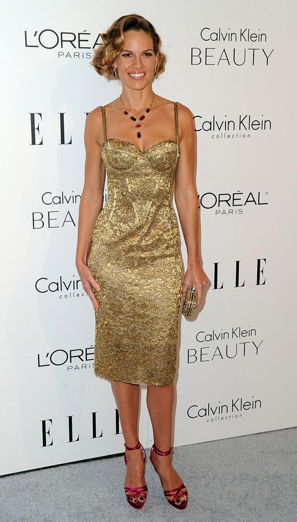 Elle's 17th Annual Women in Hollywood Tribute 2010 Hilary Swank