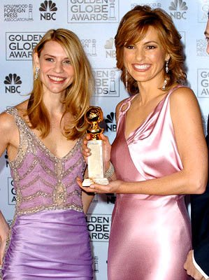 Claire Danes and Mariska Hargitay