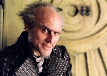 Jim Carrey as Count Olaf in Paramount Pictures' Lemony Snicket's A Series of Unfortunate Events