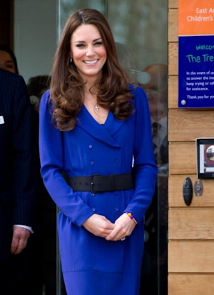 Kate Middleton wore her mother's dress as she gave her first public speech