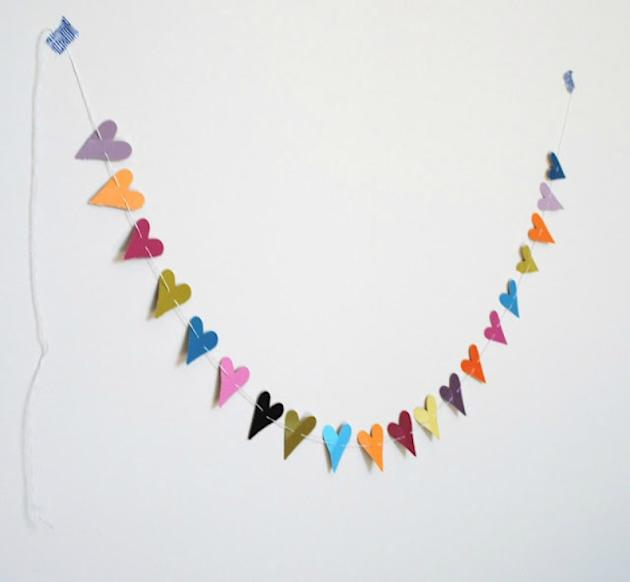 Paint-chip Garland