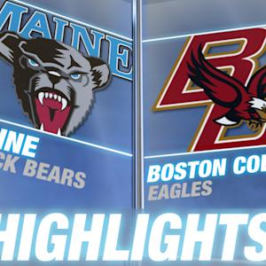 Maine vs Boston College | 2014 ACC Highlights