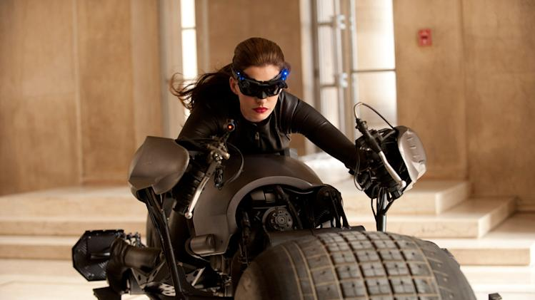 The Dark Knight RIses 2012 Anne Hatahway Warner Bros. Pictures