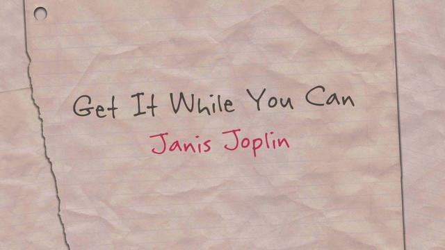 """Get It While You Can"" (Lyric Video)"