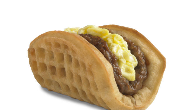 Taco Bell expanding test of waffle taco, breakfast