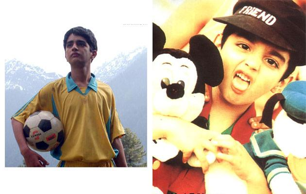 Bollywood stars - then and now