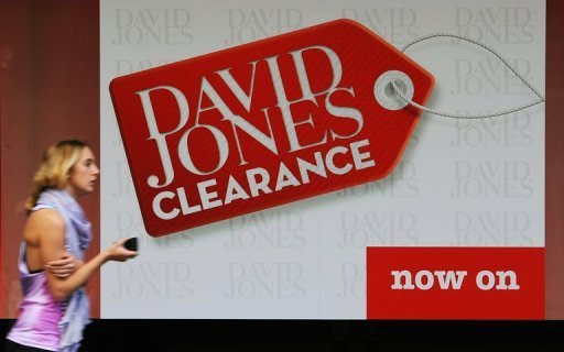 &lt;p&gt;File photo shows a woman walking past the David Jones department store in Sydney. The upmarket Australian department store said Monday an unsolicited US$1.67 billion takeover offer from a British private equity firm had been withdrawn after recent publicity.&lt;/p&gt;