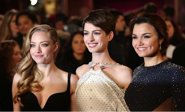 Les Miserables World Premiere pics
