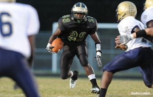 South Johnston running back Unek Lloyd
