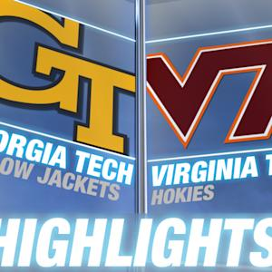 Georgia Tech vs Virginia Tech | 2014 ACC Football Highlights