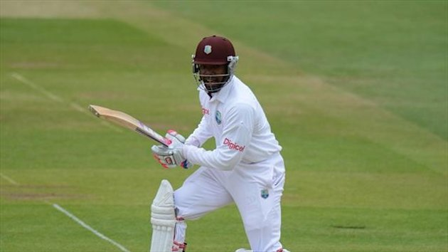 Darren Bravo scored his first Test double century for the West Indies