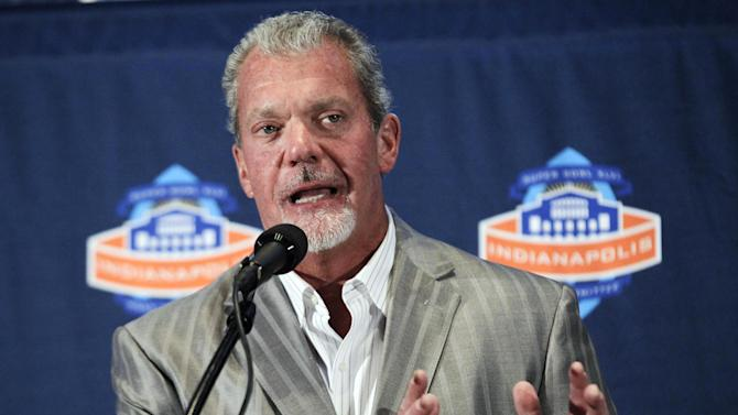 Colts owner formally charged with 2 misdemeanors