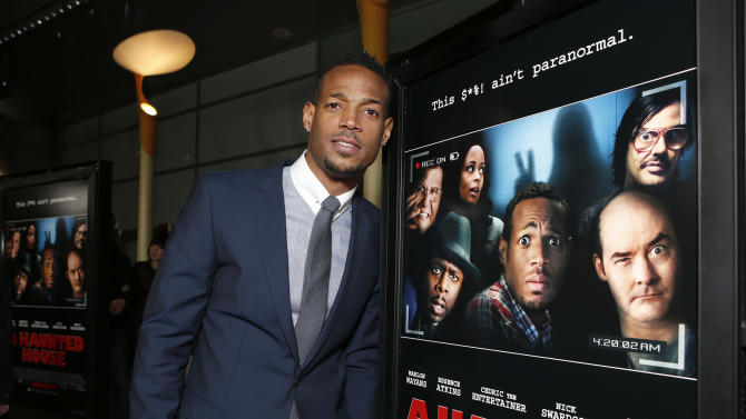 """xxx attends the premiere of """"A Haunted House"""" at the Arclight Hollywood on Thursday, Jan. 3, 2013, in Los Angeles. (Photo by Todd Williamson/Invision/AP)"""