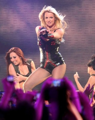 Britney Spears strikes a pose&nbsp;&hellip;