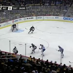 Jets at Penguins / Game Highlights