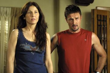 Catherine Keener and David Arquette in Focus Features' Hamlet 2