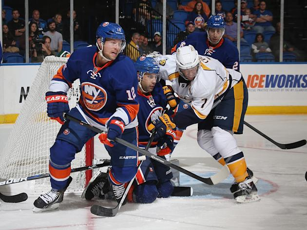 Nashville Predators v New York Islanders
