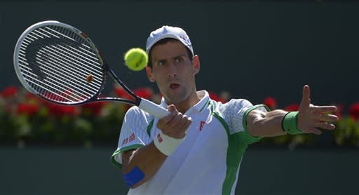 Del Potro upsets Djokovic at Indian Wells