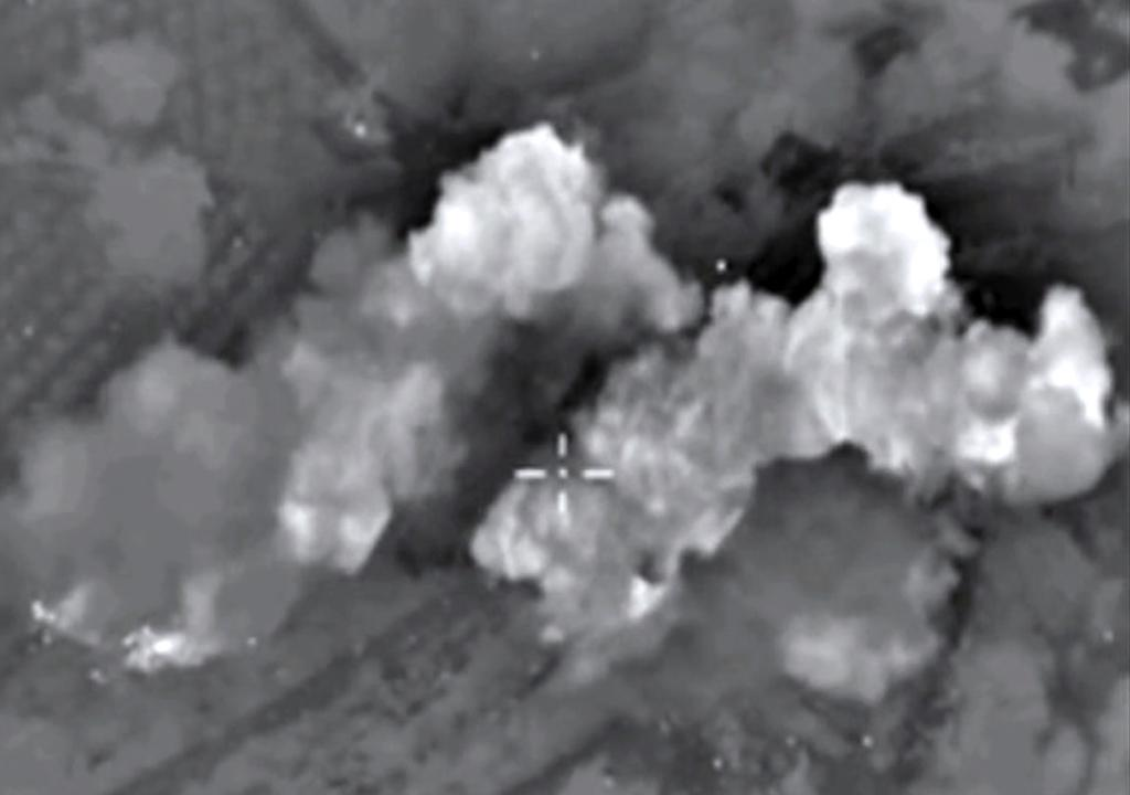 Russia hit 86 'terrorist' targets in Syria in past 24 hours: military