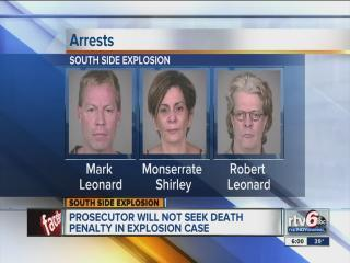Marion County Prosecutor's Office asks for life without parole sentences in Richmond Hill explosion