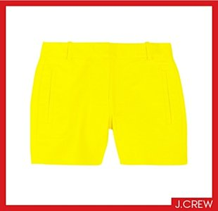 J.Crew Serge cotton-blend shorts, $80, Courtesy of net-a-porter.com
