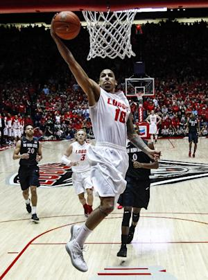 Bairstow leads New Mexico past No. 6 San Diego St
