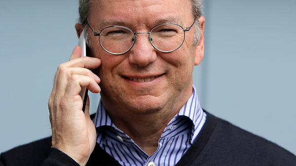 Google chairman Eric Schmidt is furious about NSA tapping