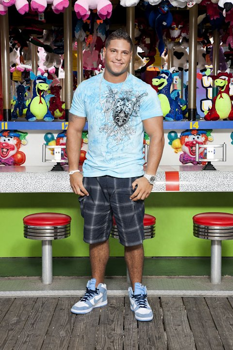 "Ronnie Magro back in Seaside, NJ for Season 5 of ""Jersey Shore."""