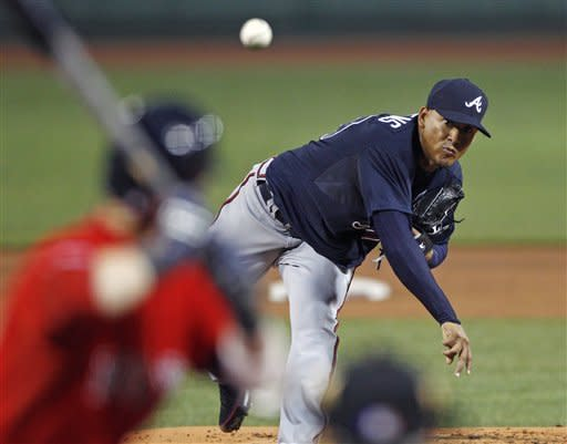 Jurrjens sharp in return, Braves top Red Sox 4-1