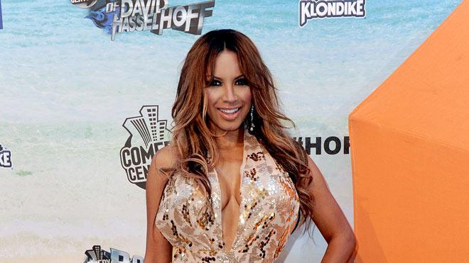 "Traci Bingham arrives at the ""Comedy Central Roast Of David Hasselhoff"" held at Sony Pictures Studios on August 1, 2010 in Culver City, California."