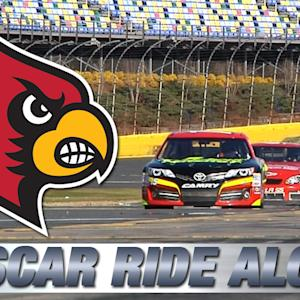 Louisville Football's NASCAR Ride-Along Experience
