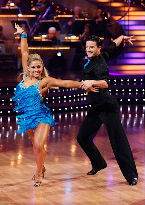 Shawn Johnson and Mark Ballas …
