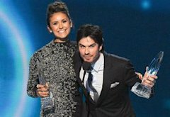Nina Dobrev, Ian Somerhalder | Photo Credits: Allen Berezovsky/WireImage