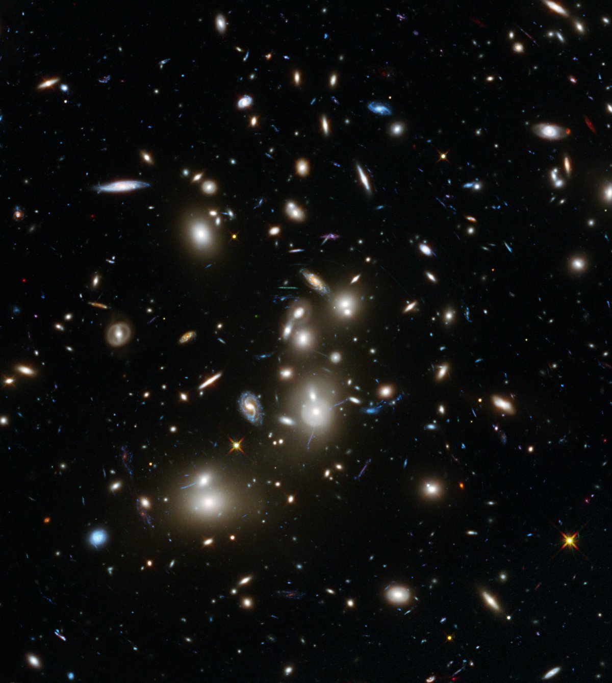 hubble distant galaxy