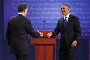 Obama, Romney Facing Off In Second Presidential Debate