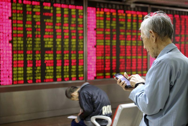 China stocks hit hard, rest of world shrugs