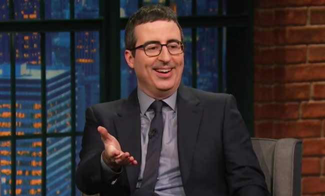 Even John Oliver Is Making Fun Of Coldplay's Super Bowl Halftime Performance