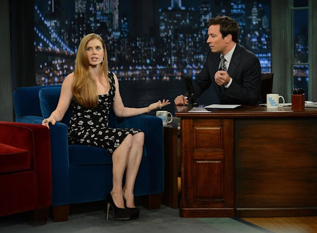 "Amy Adams Visits ""Late Night With Jimmy Fallon"""