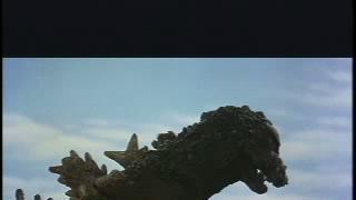 Godzilla Vs The Thing (Mothra) Scene: Baby Mothra Attacks
