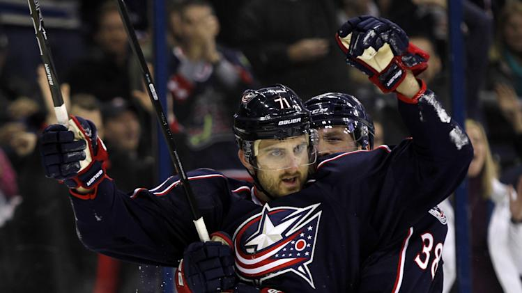 Johansen leads Blue Jackets to 4-2 win over Oilers