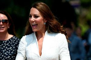 Pregnant Kate Middleton Visits Scotland